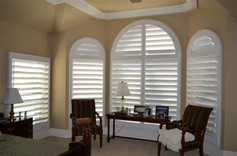 interior window shutters  curved windows   smaller