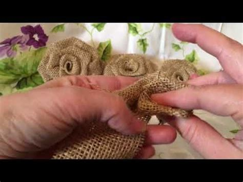 SiguienteReproducción Flores de arpillera Rosas de yute