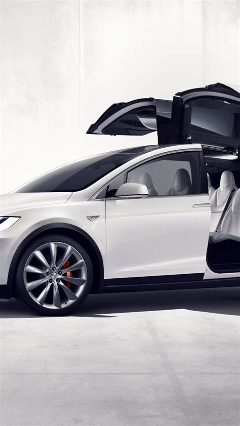 Best Electric Suv 2016 by Wallpaper Tesla Model X White Electric Cars Suv 2016