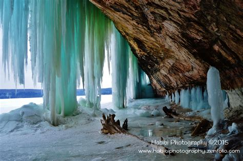 Visit the Grand Island Ice Caves!