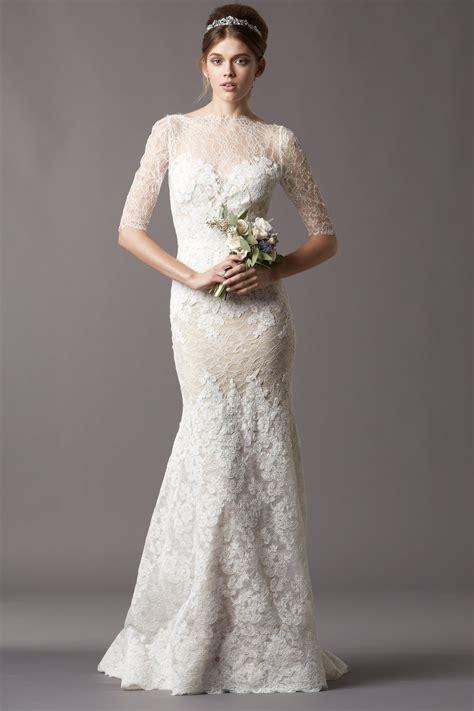 modern wedding dresses with sleeves dresscab