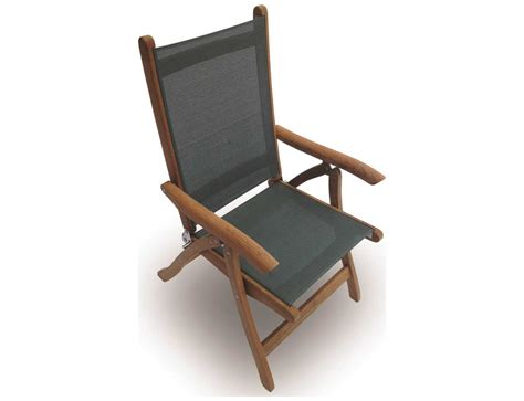 royal teak collection florida moss sling adjustable