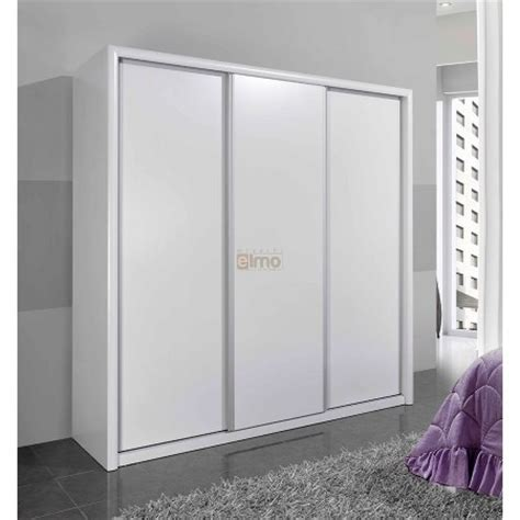 armoire 3 portes coulissantes wenge laurence meubles elmo
