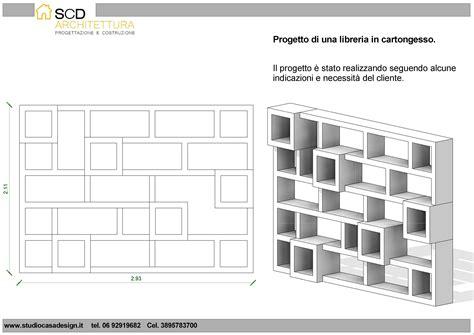 Progettare Una Libreria by Progetto E Realizzazione Di Una Libreria In Cartongesso