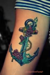 Old School Anchor Tattoo
