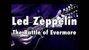 How To Play  U0026quot The Battle Of Evermore U0026quot  By Led Zeppelin On Guitar - Lesson Excerpt