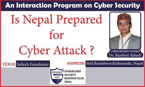 nepal prepared  cyber attack startup