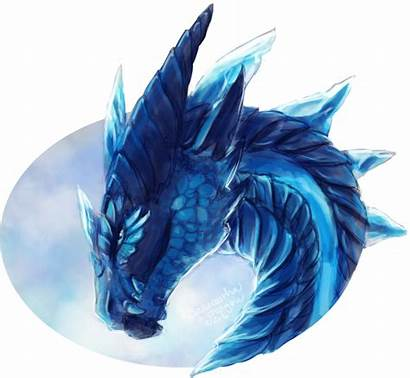 Dragon Ice Cool Transparent Dragons Water Awesome