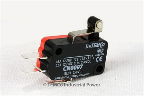 S32 Se6 Temco Micro Limit Switch Short Roller Lever Arm