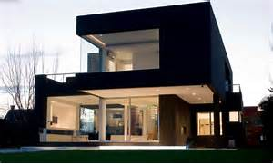 Black Color House Unusual Interior