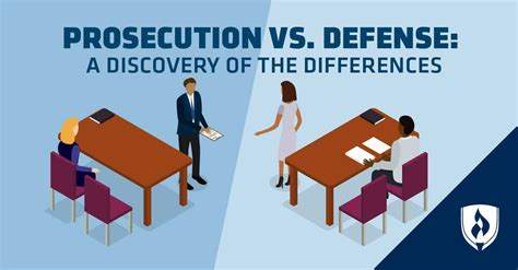 prosecution  defense  discovery   differences