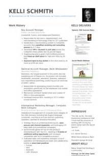 key account manager resume key account manager resume sles visualcv resume sles database