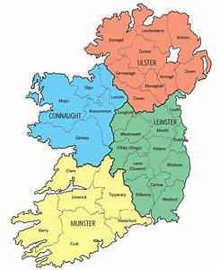 Plotting Your Irish Roots  An Irish Counties Map