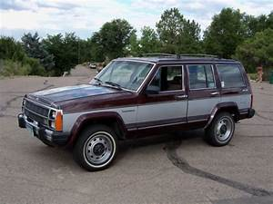 Jeep Cherokee Wagon 1987 Burgundy For Sale  1jcmr7516ht049049 Classic Jeep Cherokee Wagoneer