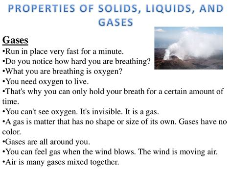 lesson 2 properties of solids liquids and gases
