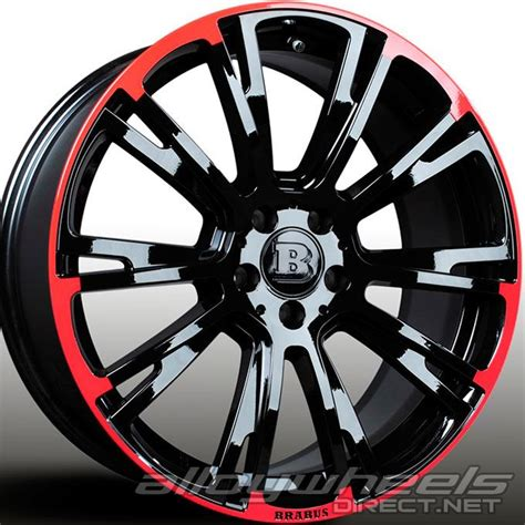 Brabus Mercedes Wheels by 19 Quot Brabus Monoblock R Wheels In Gloss Black With Edge