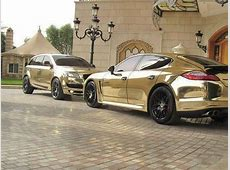 Gold Plated Cars In Dubai Just Golden Baby! Pinterest