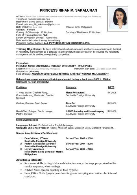 resume format ideas  pinterest  cv