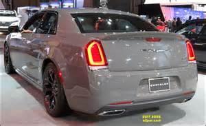 Black and Gray Chrysler 300 2017