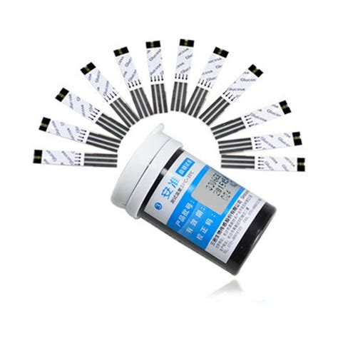 pcs sannuo blood glucose meter glucometer test strips