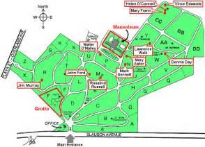 Holy Cross Cemetery Culver City Map