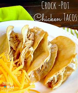 Crock Pot Chicken Tacos Recipe (Super Easy and Yummy!)