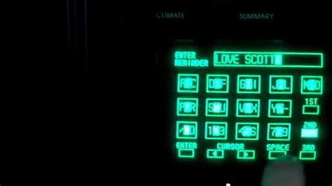My 1989 Buick Reatta CRT touchscreen - YouTube