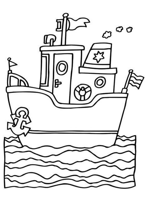 Schip Kleurplaat by Kleurplaat Schip Afb 6541