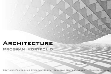 Kennesaw State University  Department Of Architecture