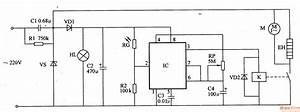 Automatic Hand Dryer 3 - Basic Circuit - Circuit Diagram