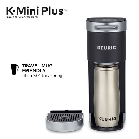 Shop items you love at overstock, with free shipping on everything* and easy returns. Keurig K-Mini Plus Coffee Maker, Single Serve K-Cup Pod Coffee Brewer, Comes With 6 to 12 oz ...