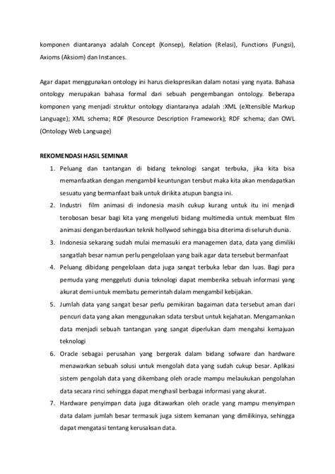 Contoh laporan seminar amikom 2014