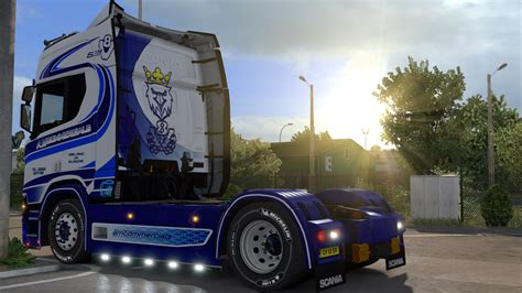 commercials paintjobs  scania    euro truck
