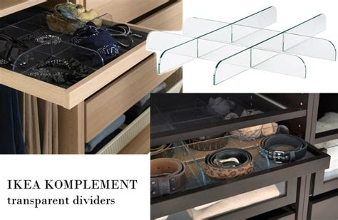 Ikea Komplement Jewelry Drawer And Dividers