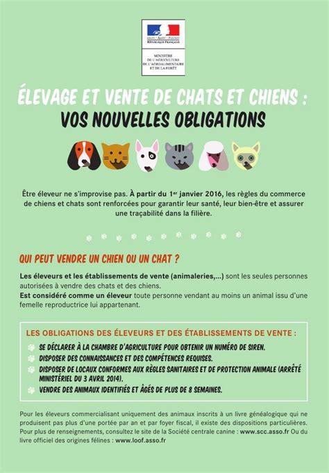 Vente Entre Particulier Loi by Nouvelle Reglementation Pour La Vente De Chiots Ou De