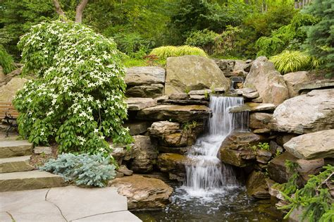waterfalls and ponds landscaping waterfalls cording landscape design