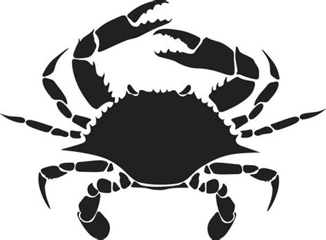 These svg images were created by modifying the images of pixabay. Crab-Maryland Blue Crab Decal | Etsy
