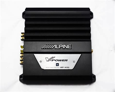 Alpine Mrv-m500 Mono Car Audio Amplifier/1-channel Car Amp