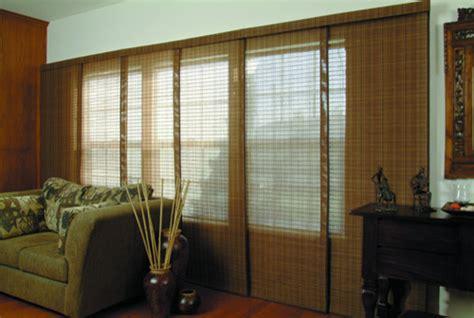 blindscom brand woven wood sliding panels asian