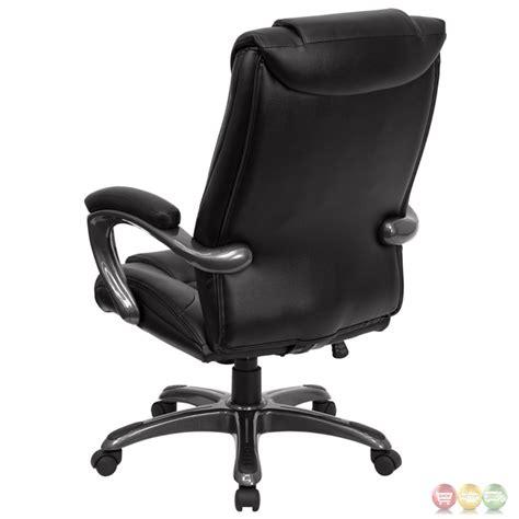 high back black leather executive office chair go 7194b bk gg