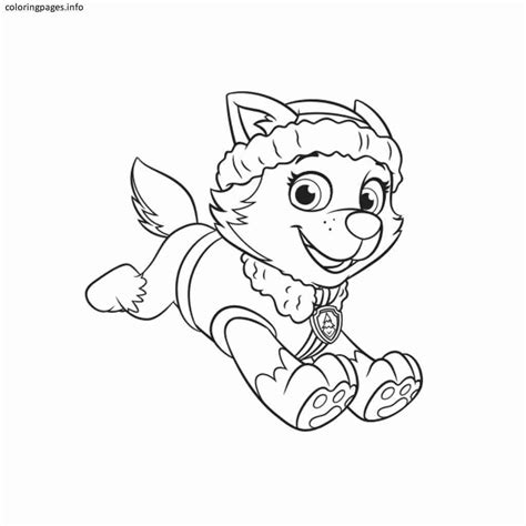 Rocky Paw Patrol Coloring Pages at GetColorings com Free