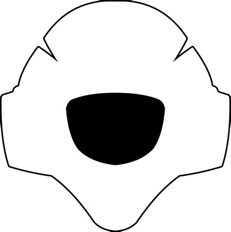 bauer goalie mask template blank goalie mask template pictures to pin on pinsdaddy