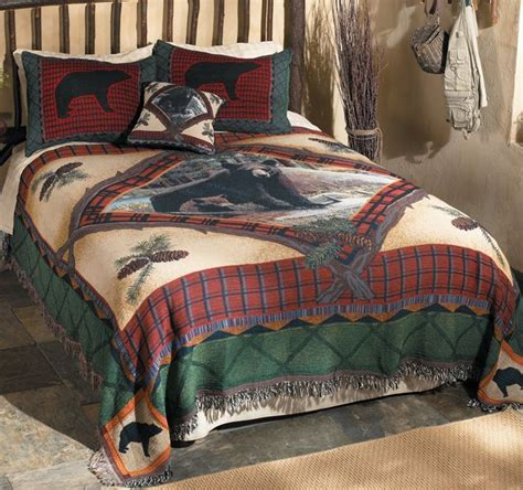 cabin style bedding 40 best images about lodge look on vintage