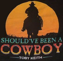 Should've Been a Cowboy - Wikipedia