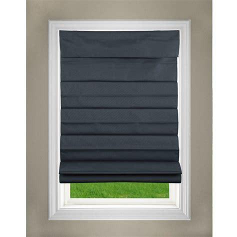 black l shades lift window treatment black cordless fabric