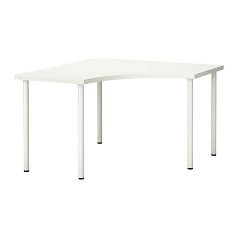 Ikea Desk Corner Top by Linnmon Adils Corner Table White Ikea