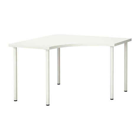 linnmon adils corner table white ikea