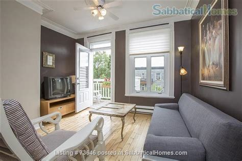 Rent Appartment Montreal by Sabbaticalhomes Home For Rent Montreal H2j 3x7
