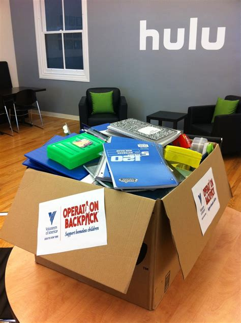 Office Supplies Nyc by 15 Best Hulu Gives Back Images On Charity