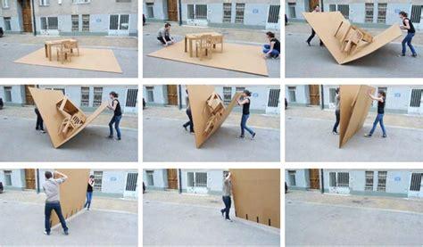 pop up office foldable furniture by liddy scheffknecht